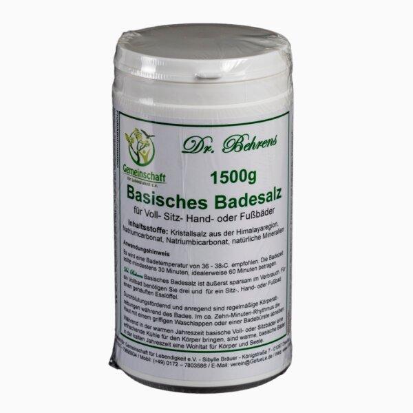 Gefuele e.V. Basisches Badesalz 1500g